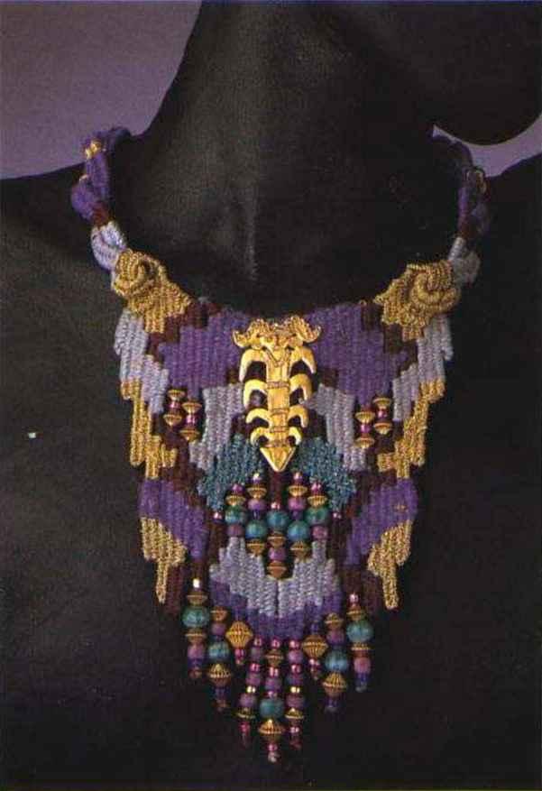 Helen Banes Fiber Jewelry Beading Magazine